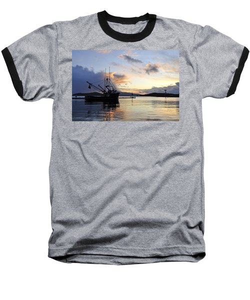 Baseball T-Shirt featuring the photograph Leaving Safe Harbor by Cathy Mahnke