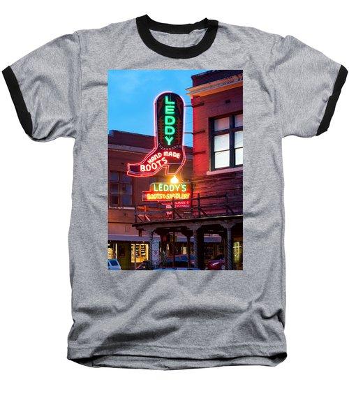 Leddy Hand Made Boots 031315 Baseball T-Shirt