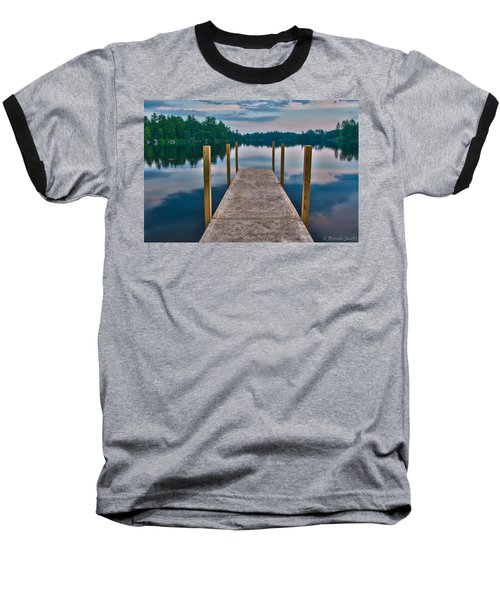 Lees Mills Dock Baseball T-Shirt