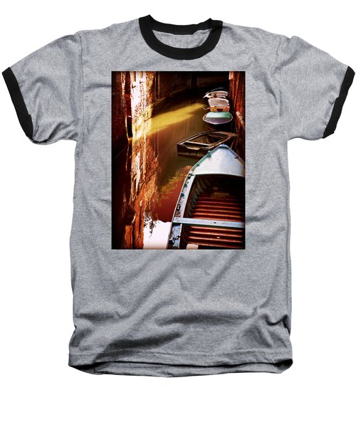 Baseball T-Shirt featuring the photograph Legata Nel Canale by Micki Findlay