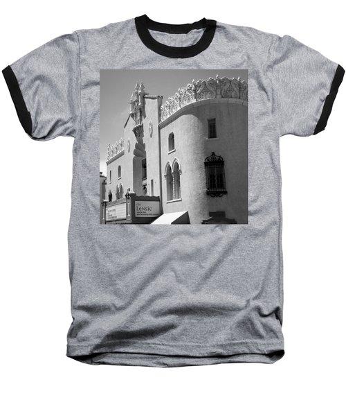 Lensic Bw Baseball T-Shirt