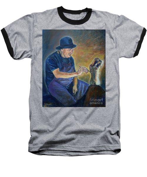 Figurative Painting Baseball T-Shirt