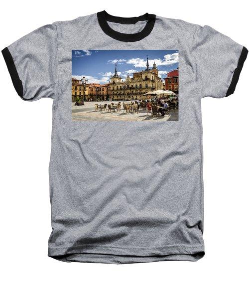 Leon City Hall Baseball T-Shirt
