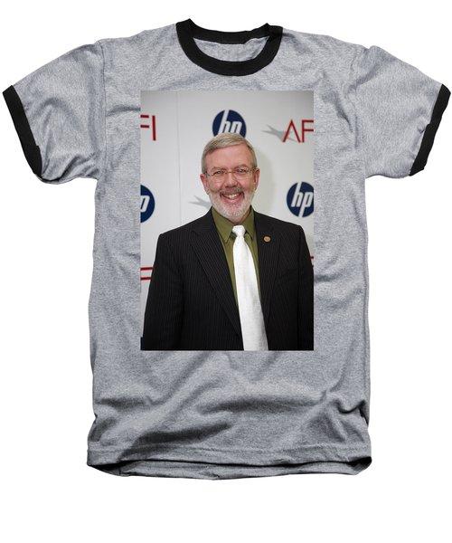 Leonard Maltin Baseball T-Shirt