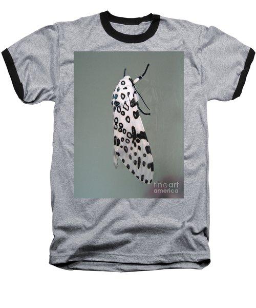 Leopard Moth Baseball T-Shirt