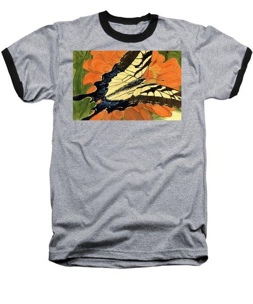 Lepidoptery Baseball T-Shirt by Joel Deutsch