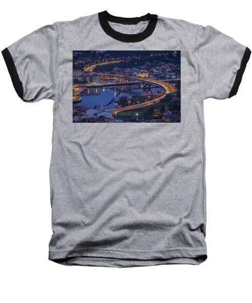 Baseball T-Shirt featuring the photograph Lerez River Pontevedra Galicia Spain by Pablo Avanzini