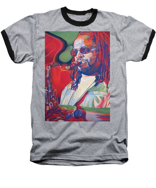 Leroi Moore Colorful Full Band Series Baseball T-Shirt
