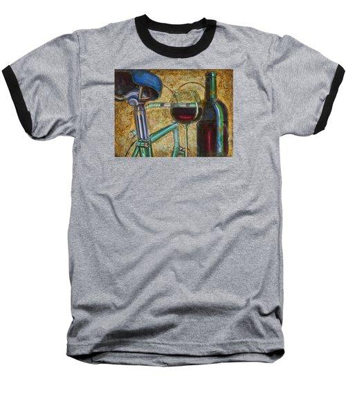 L'eroica Bianchi Chianti Baseball T-Shirt by Mark Jones