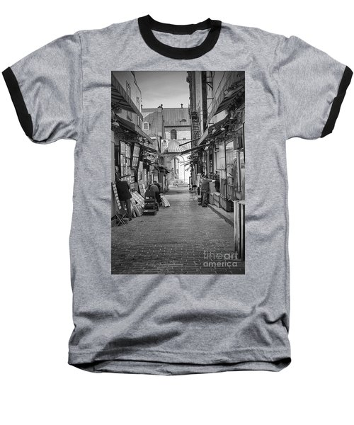 Baseball T-Shirt featuring the photograph Les Artistes by Eunice Gibb