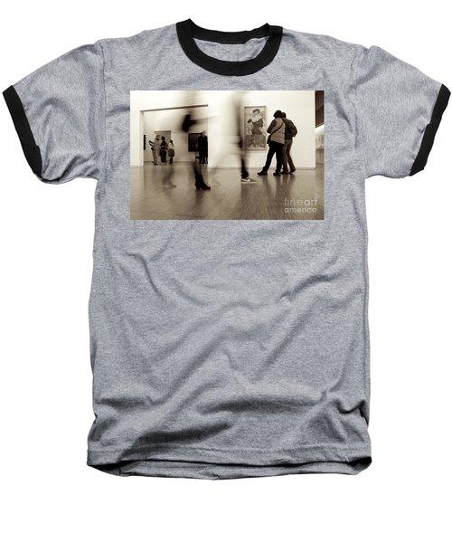 Les Fantasmes De Pompidou Baseball T-Shirt