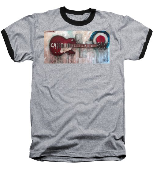 Les Paul Number 5 Baseball T-Shirt