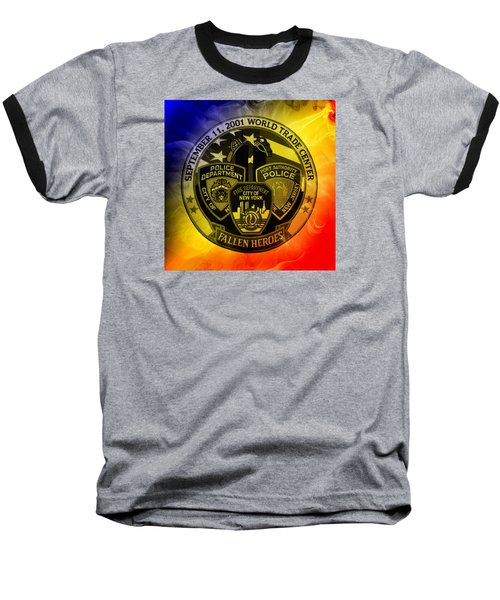 Least We Forget 2 Baseball T-Shirt by Nick Kloepping