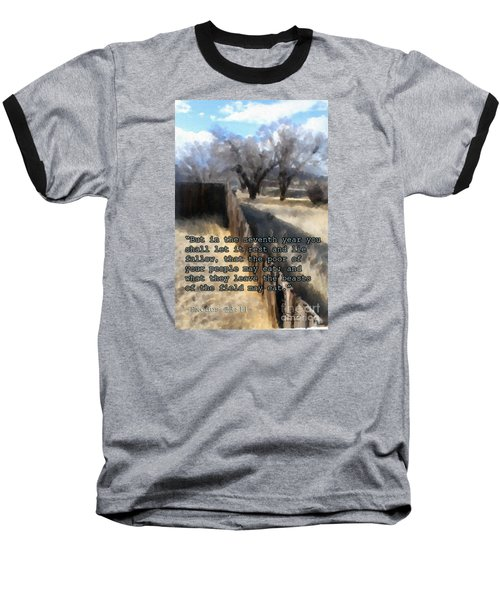 Let It Be Baseball T-Shirt