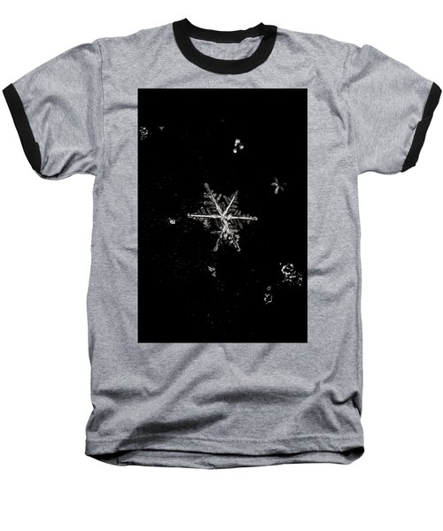 Let It Snow Baseball T-Shirt by Sara Frank