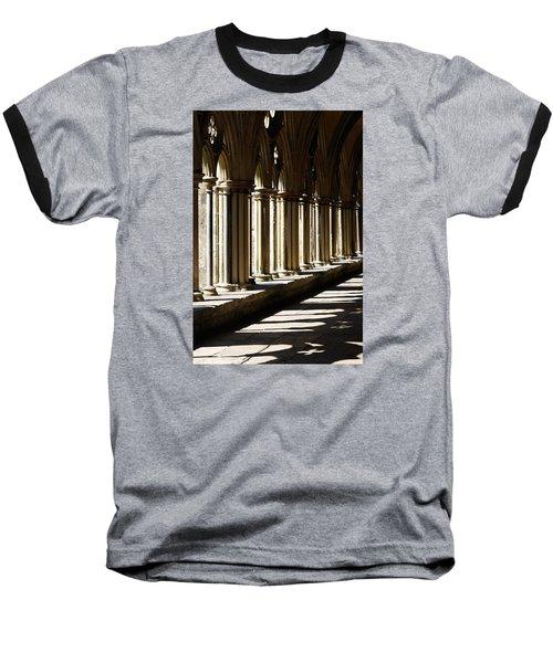 Let The Sun Shine Through Baseball T-Shirt by Wendy Wilton