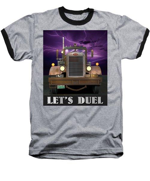 Let's Duel Baseball T-Shirt by Stuart Swartz