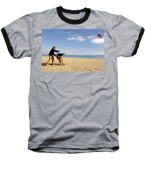 Let's Go Fly A Kite Baseball T-Shirt