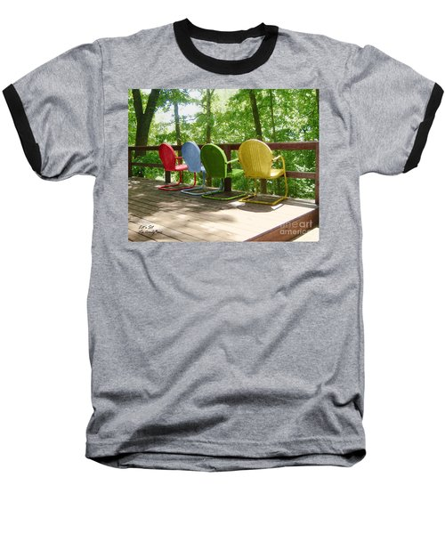 Let's Sit Baseball T-Shirt