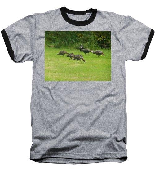 Let's Turkey Around Baseball T-Shirt