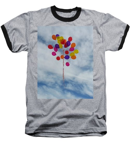 Baseball T-Shirt featuring the photograph Letting Go by Emmy Marie Vickers