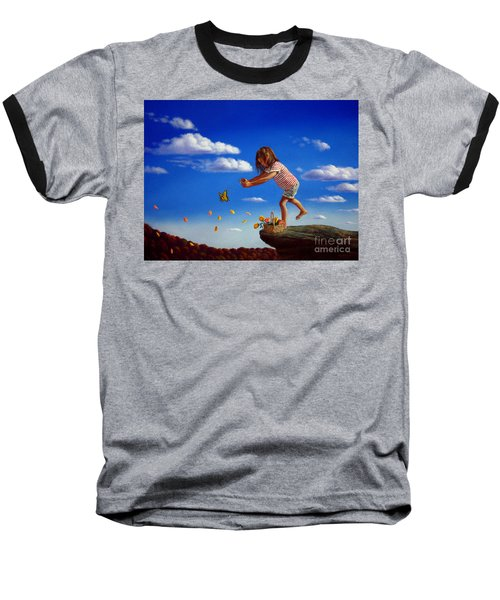 Letting It Go Baseball T-Shirt