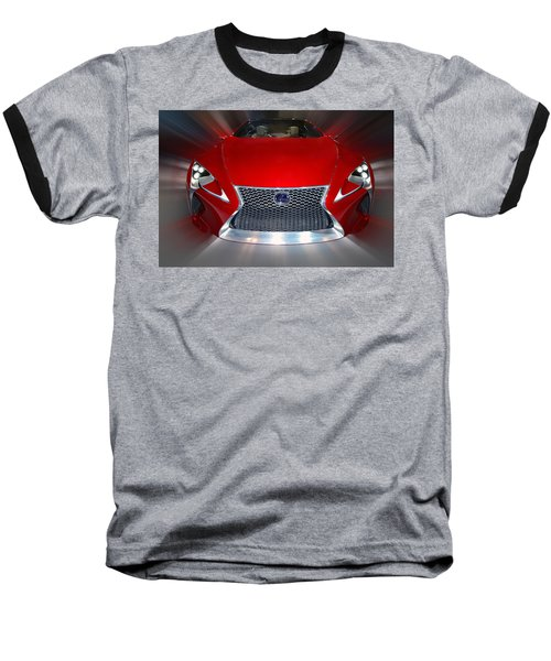 Lexus L F - L C Hybrid 2013 Baseball T-Shirt