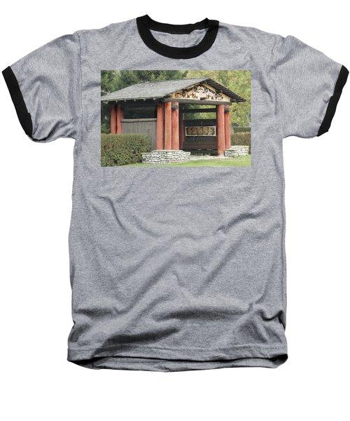 Lheit-li National Burial Grounds Entranceway Baseball T-Shirt