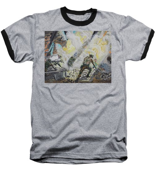 Liberator's Guardian Angles Baseball T-Shirt