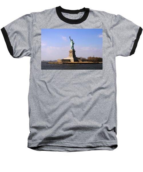 Liberty Island Baseball T-Shirt