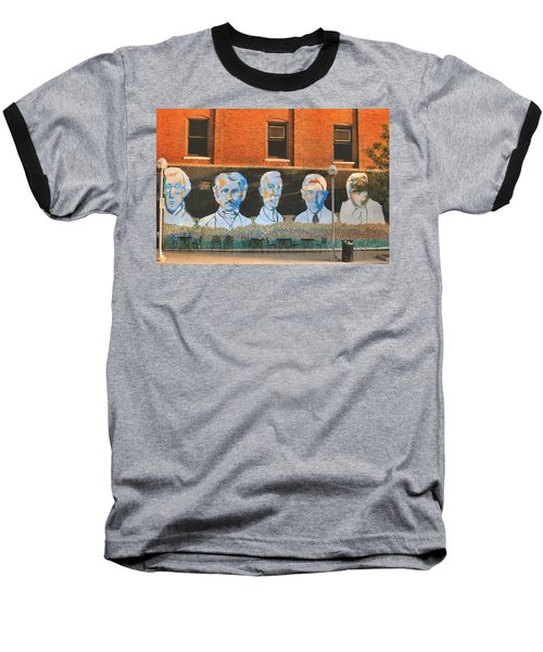 Liberty Street Mural Baseball T-Shirt