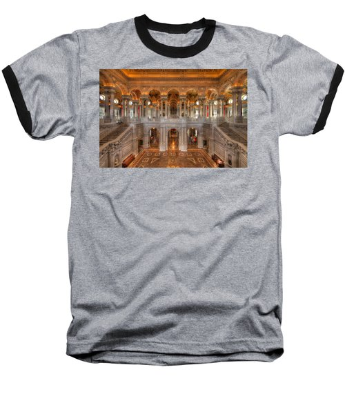 Library Of Congress Baseball T-Shirt
