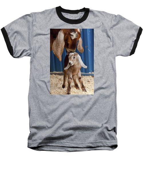 Licked Clean Baseball T-Shirt by Caitlyn  Grasso