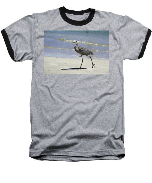 Lido Beach Blue Baseball T-Shirt