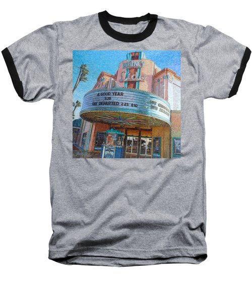 Lido Theater Baseball T-Shirt