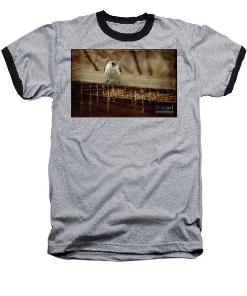 Life Can Be Tough Baseball T-Shirt