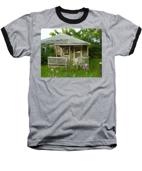 Life Goes On Baseball T-Shirt by Fortunate Findings Shirley Dickerson