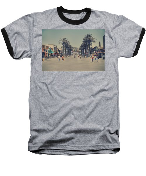 Life In A Beach Town Baseball T-Shirt by Laurie Search