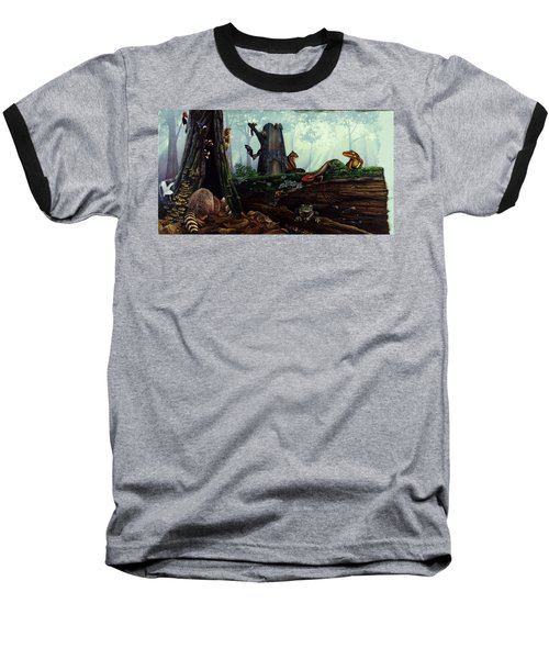 Life In A Dead Tree Baseball T-Shirt