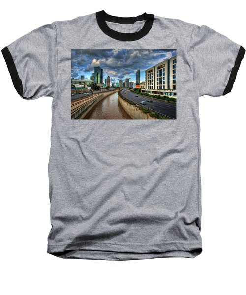 Baseball T-Shirt featuring the photograph Life In The Fast Lane by Ronsho