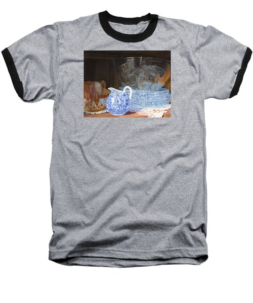 Baseball T-Shirt featuring the painting Life Is A Carnival Glass by Lynne Reichhart