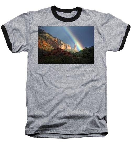 Life Is Beautiful  Baseball T-Shirt by Saija  Lehtonen
