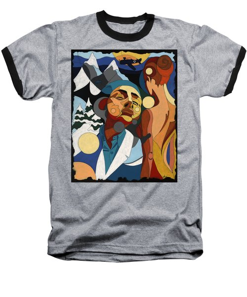 Life Of Roy Painting With Hidden Pictures Baseball T-Shirt