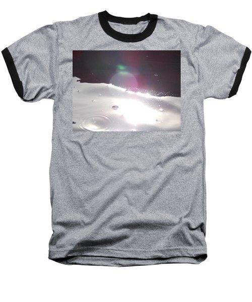 Spaced Out Baseball T-Shirt by Deborah Moen