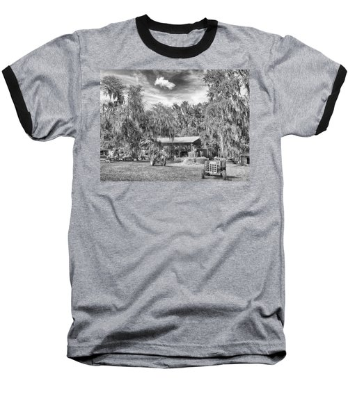 Baseball T-Shirt featuring the photograph Life On The Farm by Howard Salmon