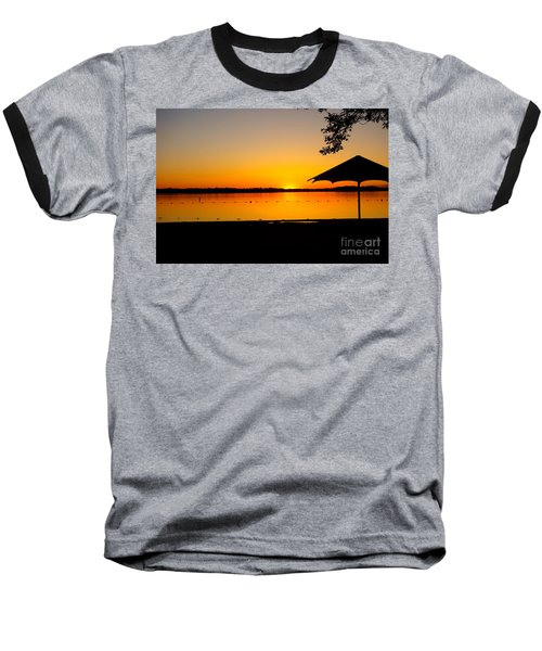 Lifeguard Off Duty Baseball T-Shirt by Jacqueline Athmann