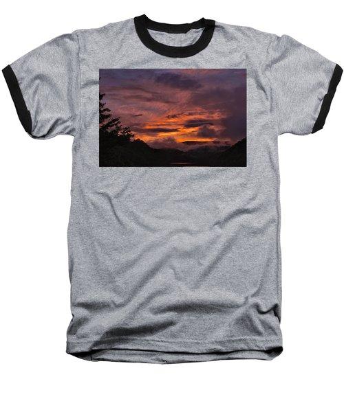 Light And Color Show Baseball T-Shirt