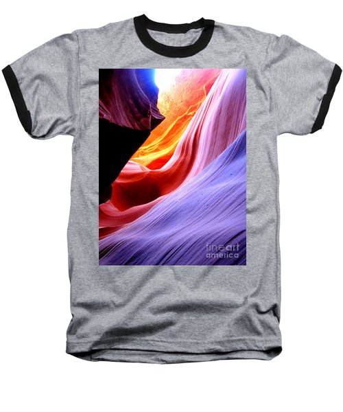 light symphony of Antelope canyon Baseball T-Shirt