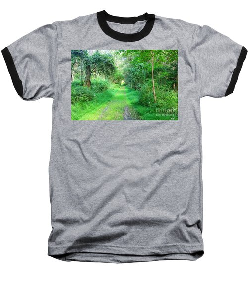 Baseball T-Shirt featuring the photograph Light At The End Of The Tunnel by Becky Lupe