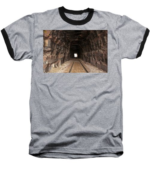 Light At The End Of The Tunnel Baseball T-Shirt